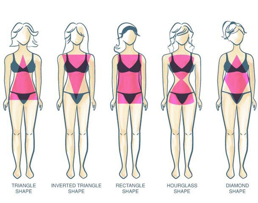 Carousel female body types image courtesy freelancercom
