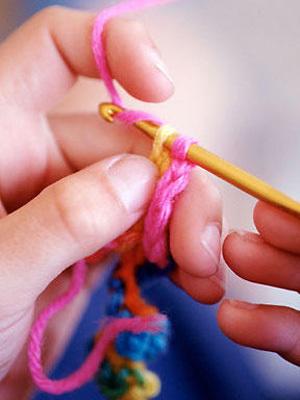 Carousel crochet