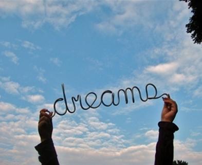 Medium dreams in sky