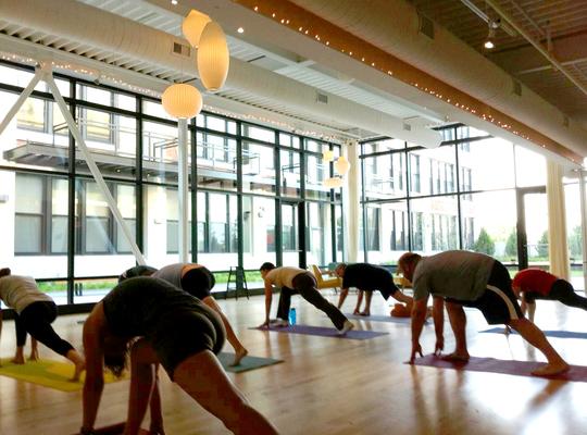 Carousel yoga