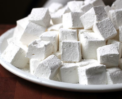 Medium homemade marshmallows side web