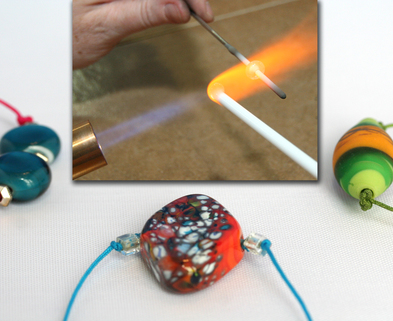 Medium bead making bracelets