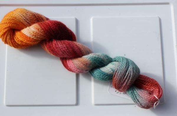 Carousel hand painted warm yarn 3430