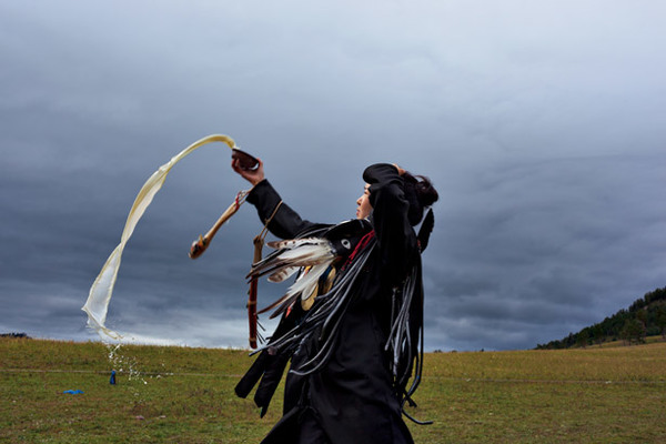 Carousel shaman initiation 615