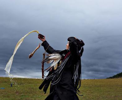 Medium shaman initiation 615