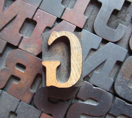 Carousel letter press