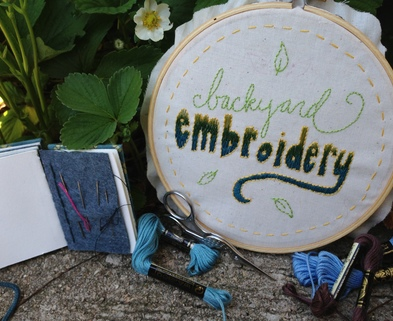 Medium backyard embroidery