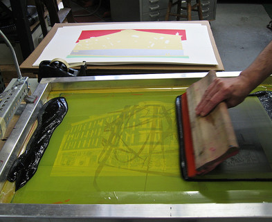 Medium screen printing