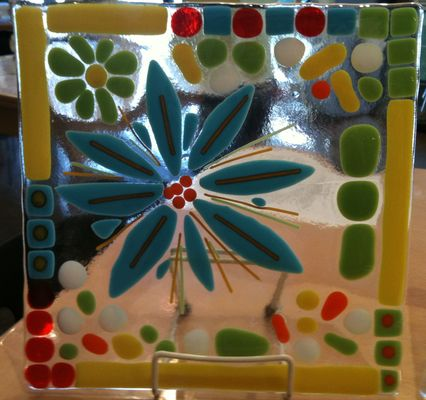 Carousel flowerglass