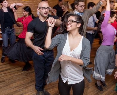 Medium bachata group class