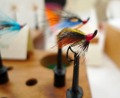 Medium fly tying