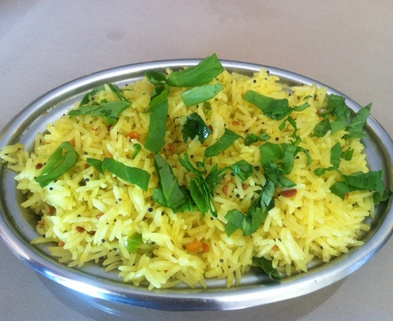 Medium lemon rice