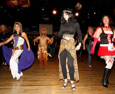 Medium salsa dancing halloween