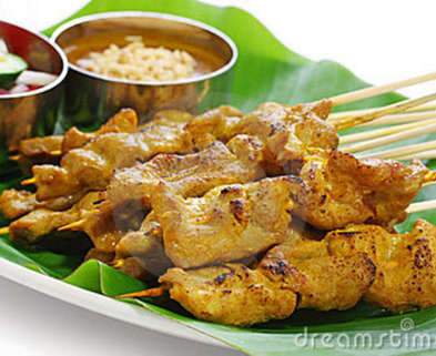 Medium moo satay pork satay thai cuisine 21912210