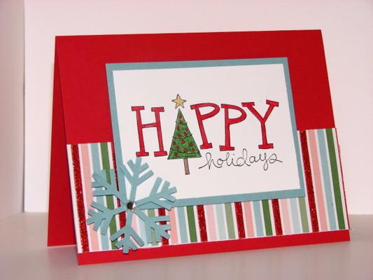 Carousel happy holidays