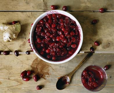 Medium cranberry flip