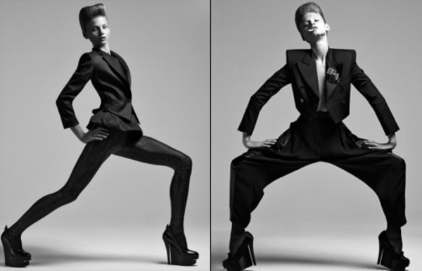 Male Fashion Model Poses