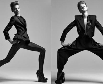 Medium fashion models