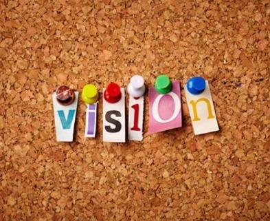 Medium uptown vision board