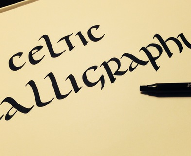 Calligraphy Classes Chicago Celtic Calligraphy Dabble