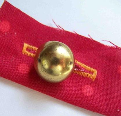 Carousel shank buttonhole