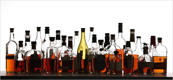 Carousel 20 bourbon bottles