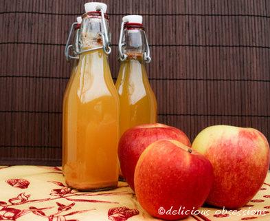 Medium apple cider