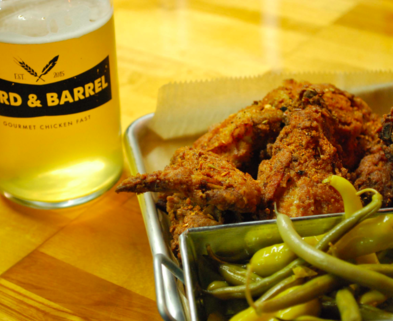 Medium byrd and barrel fried chicken and beer dabble st. louis