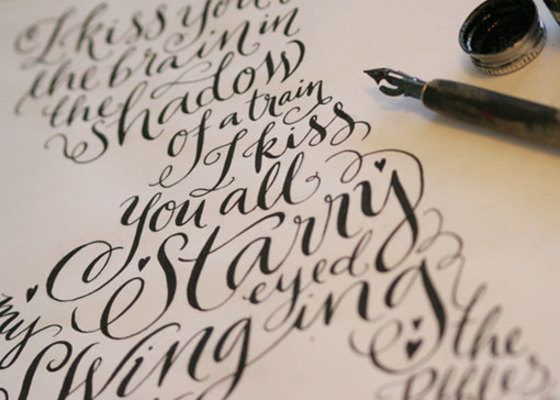Carousel kateforrester calligraphy 01