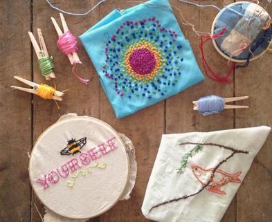 Medium embroidery