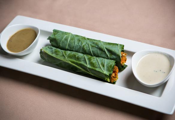 Carousel veggie rolls