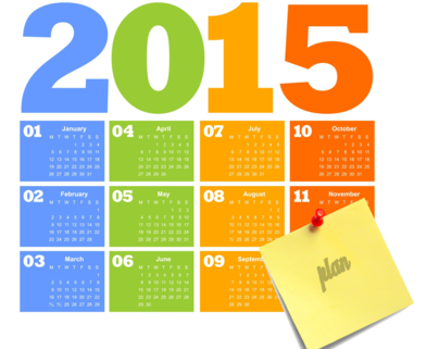 Medium 2015 calendar