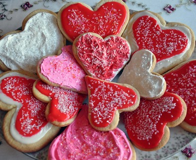 Medium valentines cookies1