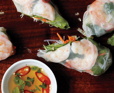 Medium mare vietnamese summer rolls h