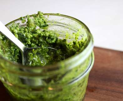 Medium kale lime pesto