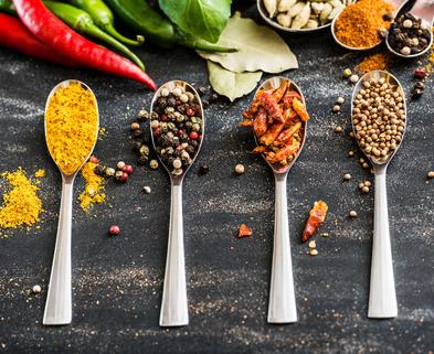 Medium spices