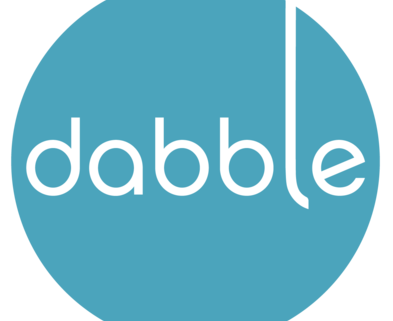 Medium dabble logo large