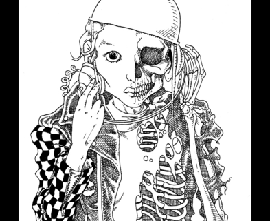 Medium skeletongirl