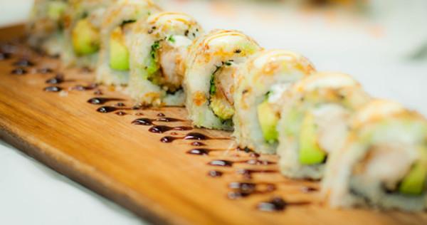 Carousel sushi roll main
