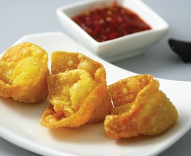 Medium friedwontons