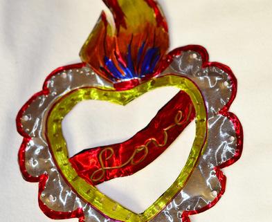 Medium heart tin tooling