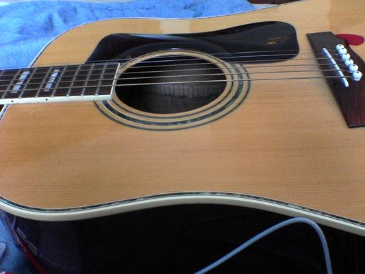 Carousel guitar
