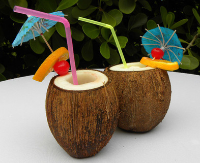 Medium coconuts drinks
