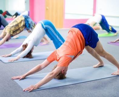 Medium yoga dabble