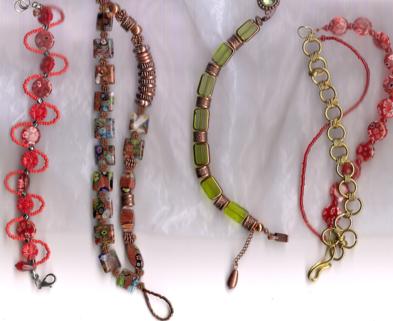 Medium kt beaded braceletsm
