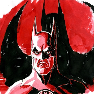 Carousel batman illustration