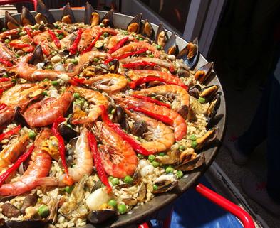Medium paella