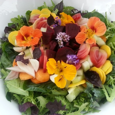 Carousel summer salad