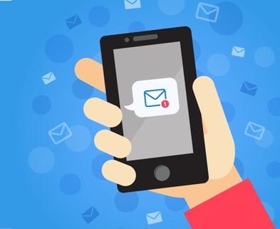 Medium smartphone email
