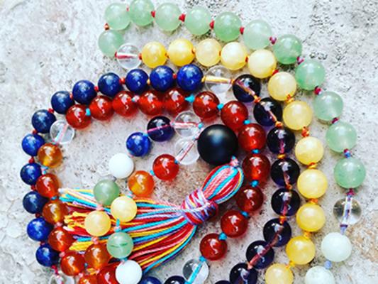 Carousel mala necklace dabble denver jen